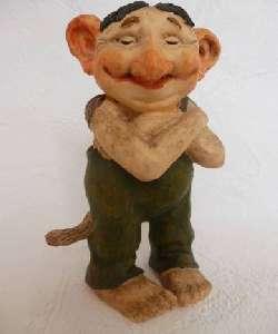 Gnoom van Rien Poortvliet 12cm